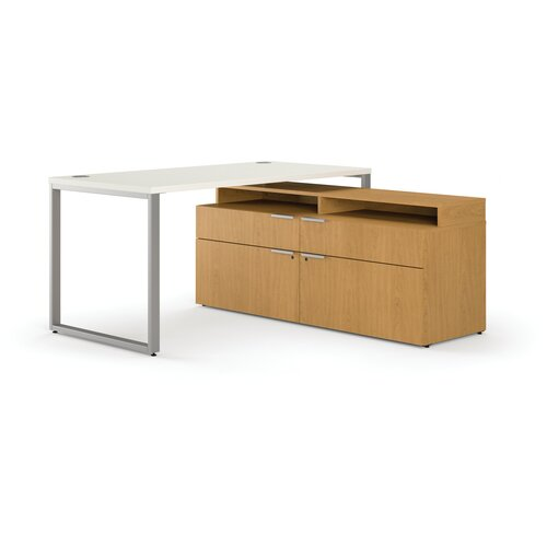 HON Voi L-Shape Executive Desk