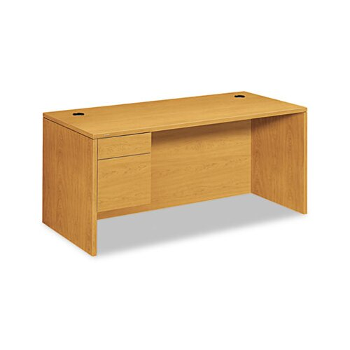HON 10500 Series 3/4-Height Pedestal Desk