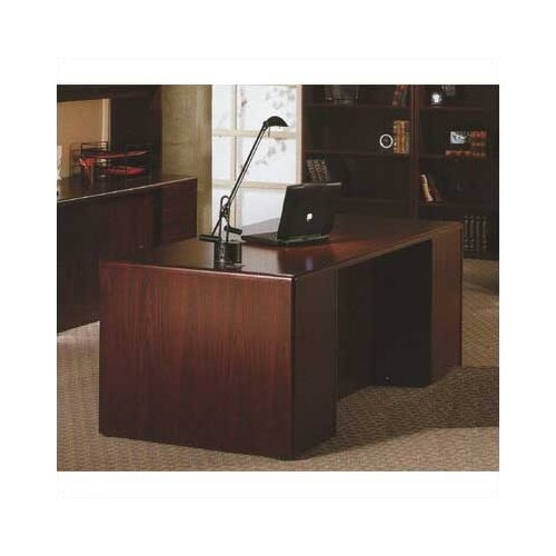 "HON 10700 Series 72"" W Double Pedestal Executive Desk"