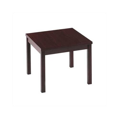 HON Laminate Corner End Table