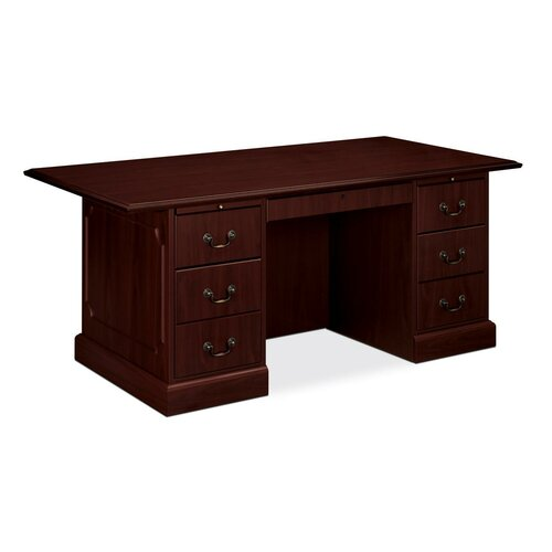 HON 94000 Series Executive Desk 2 Box and 2 File Drawers