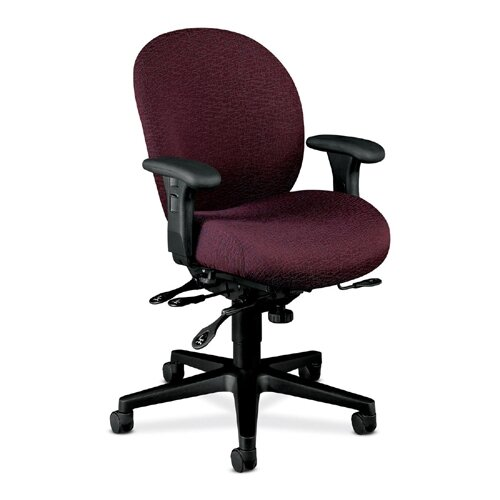 HON 7600 Series High Back Executive Chair with Seat Glide