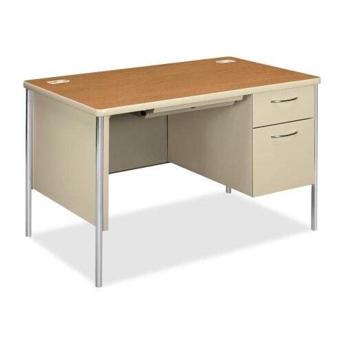HON Right Pedestal Desk