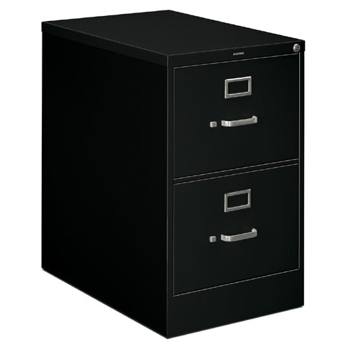 "HON H320 Series 18.25"" W x 26.5"" D 2-Drawer  File Cabinet"
