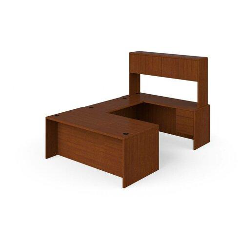 HON 10700 Series U-Shaped Desk Office Suite