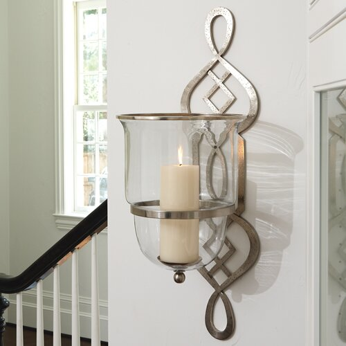 Global Views Grand Fret Wall Sconce