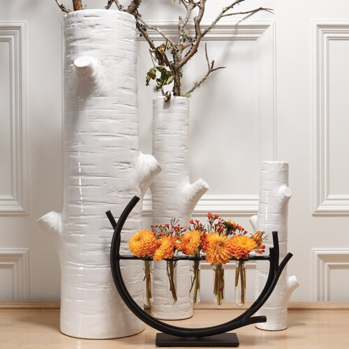 Global Views Winter Birch Vase