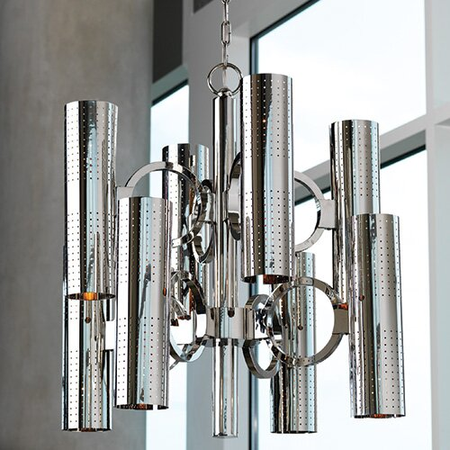 Global Views O-Pipe 16 Light Chandelier