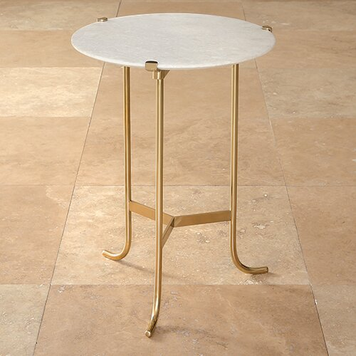 Global Views Plie End Table