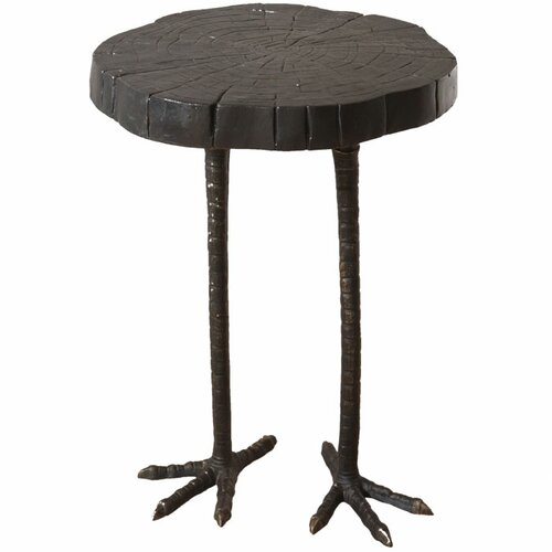 Global Views Ostrich End Table