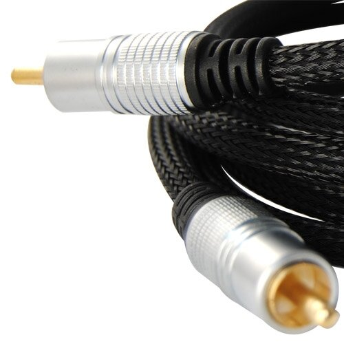 TechTent 6 ft. Dual Shielded Subwoofer Cable