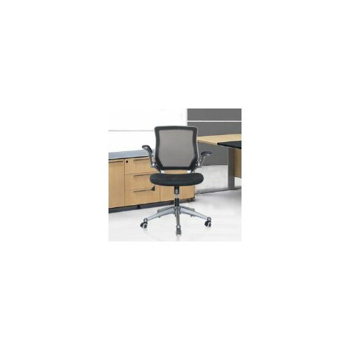 Versatile Mid-Back Mesh Optimum Office Chair with Casters