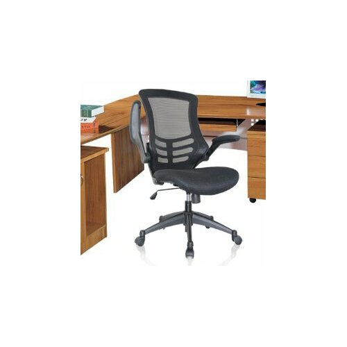 High-Back Mesh Office Chair with Wheels