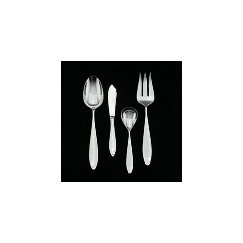Wedgwood New Oberon Stainless 4 Piece Hostess Set