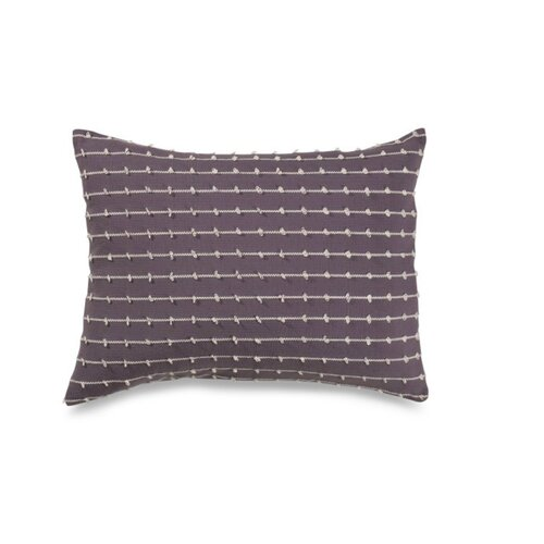 Vue by Ellery Cocobon Cotton Loop Embellished Decorative Pillow