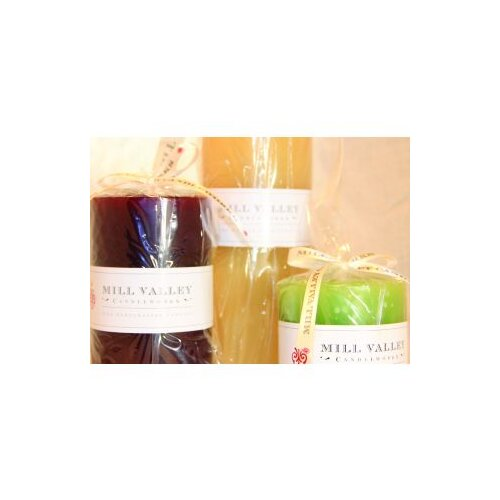 Scented Pillar Candles (Set of 3)