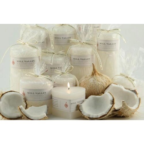 Dolce Scented Pillar Candles (Set of 3)