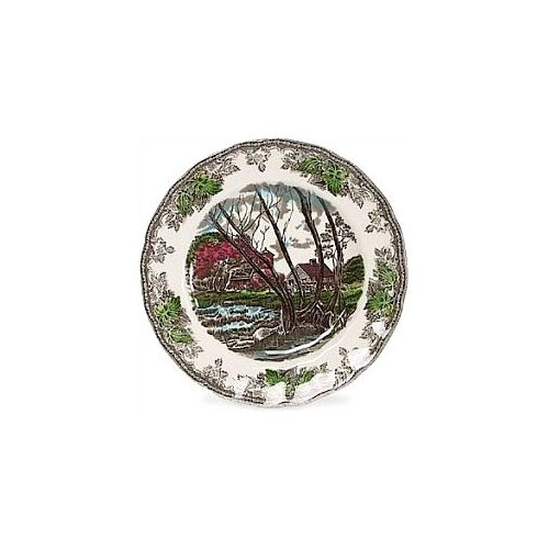 "Johnson Brothers Friendly Village 10"" Dinner Plate"