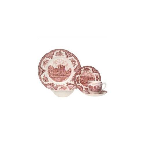 Old Britain Castles Pink 20 Piece Dinnerware Set