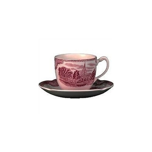 Johnson Brothers Old Britain Castles Pink Tea Saucer