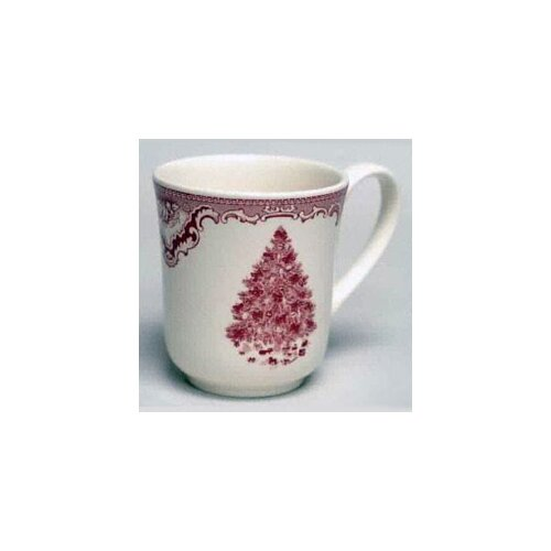 Johnson Brothers Old Britain Castles Pink Christmas Mug
