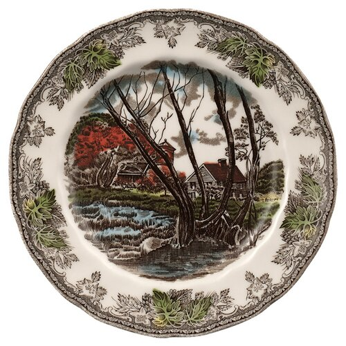 "Johnson Brothers Friendly Village 6"" Salad Plate"
