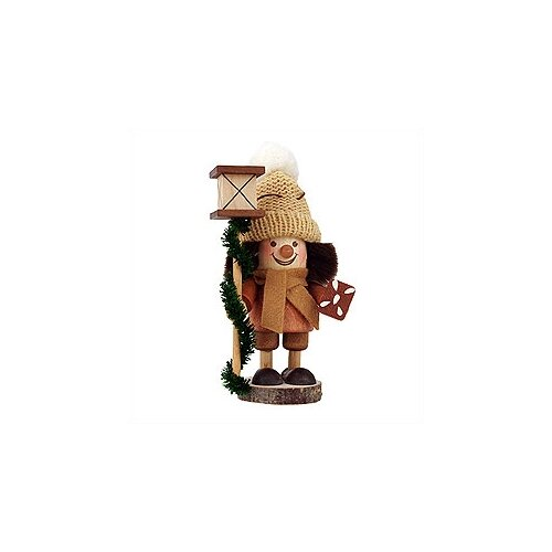 Christian Ulbricht Gingerbread Man in Natural Wood Finish Ornament