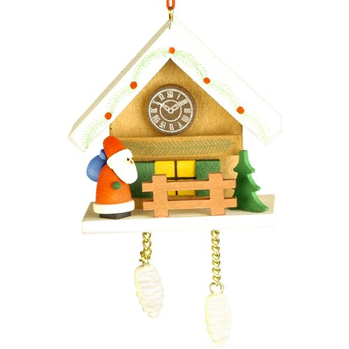 Christian Ulbricht Santa Cuckoo Clock Ornament