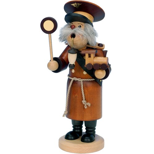 Christian Ulbricht Train Conductor Incense Burner