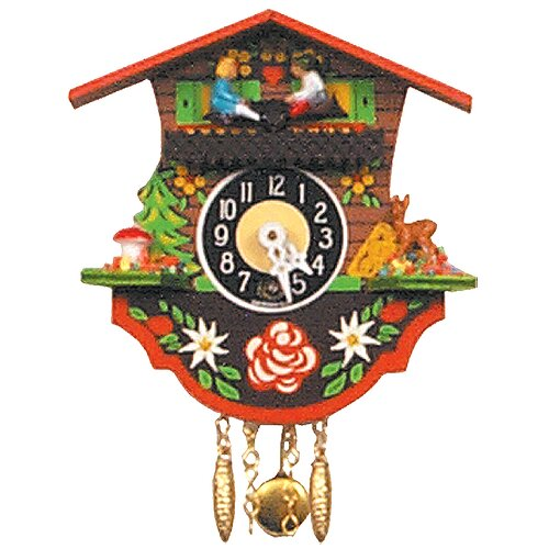 Teeter Totter Chalet Wall Clock