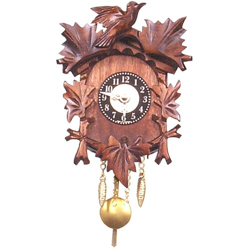 Battery Operated Carved Clock