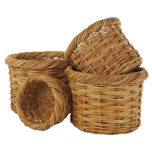 Eco Displayware Eco-Friendly Round Basket