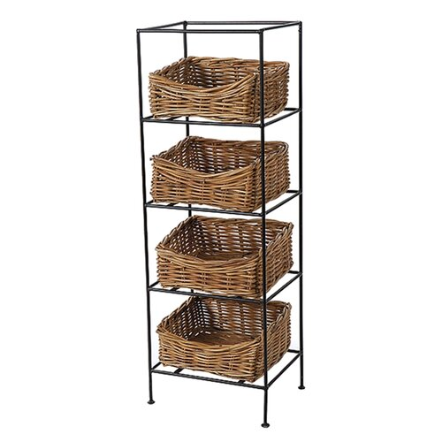 Eco-Friendly 4 Tier Storage Stand