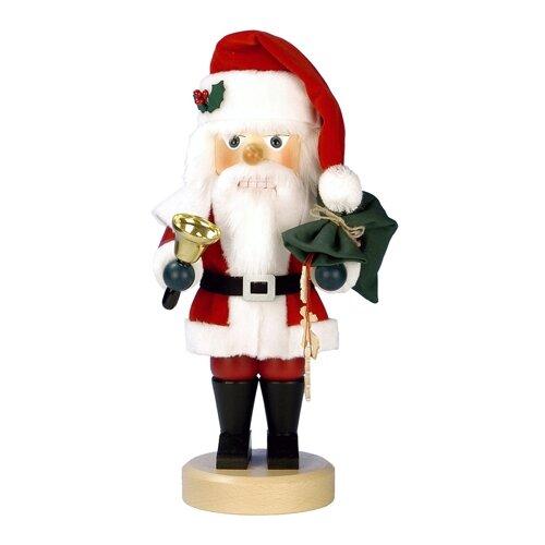 Alexander Taron Christian Ulbricht Santa with Bell Nutcracker