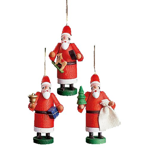 Alexander Taron Santas Ornament