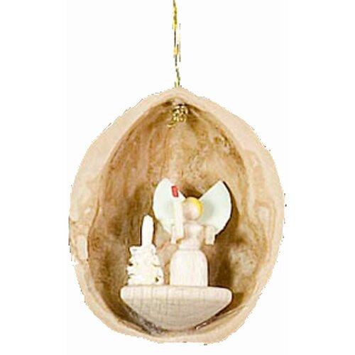Angel Nutshell Ornament