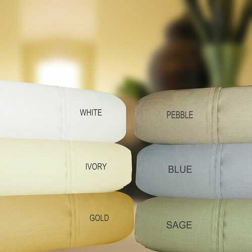 Aspire Linens 630 Thread Count Egyptian Cotton Sheet Set