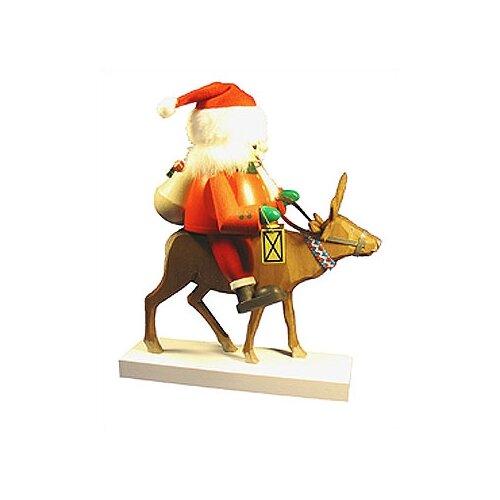 Richard Glaesser Santa on Reindeer Nutcracker