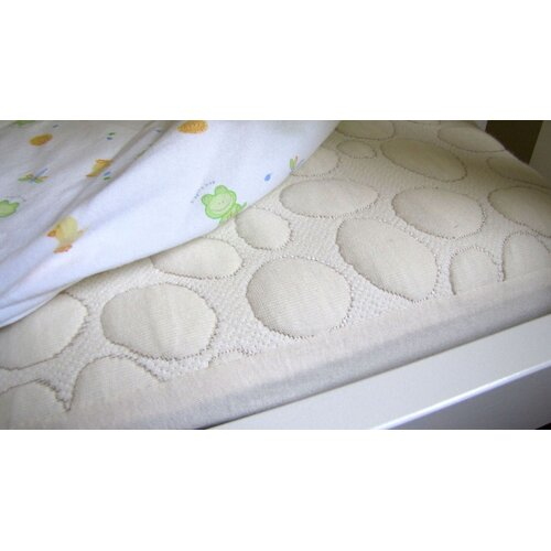 Dream Decor Pebbletex Organic Cotton Crib Mattress Pad