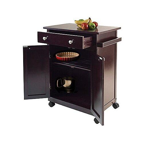 Winsome Kitchen Cart Reviews Wayfair