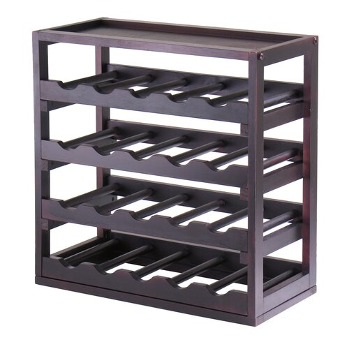 Winsome Kingston 20-Bottle Wine Rack