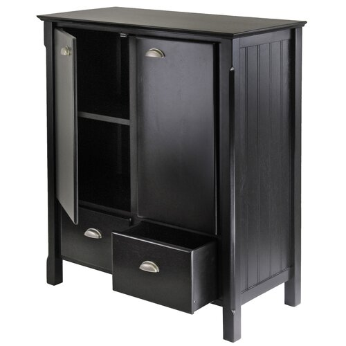 Winsome Timber 2 Drawer Cabinet