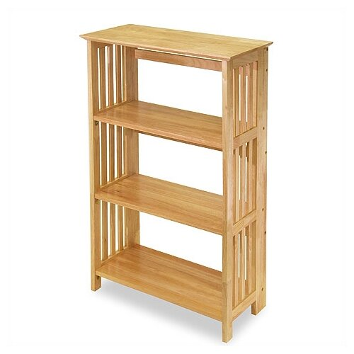 "Winsome Basics Foldable 42"" Bookcase"