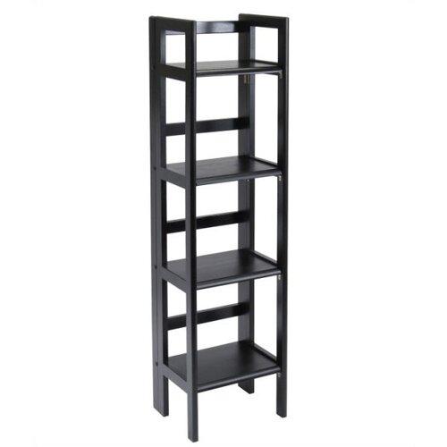 """Winsome Basics Folding 51.34"""" Bookcase"""