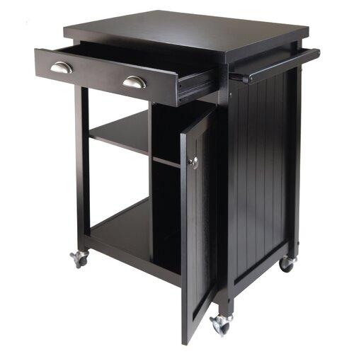 Winsome Timber Kitchen Cart Reviews Wayfair