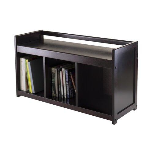 Linon Anna Solid Wood Storage Bench Reviews Wayfair