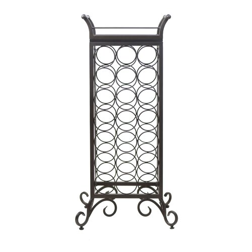 Silvano 21 Bottle Tabletop Wine Rack