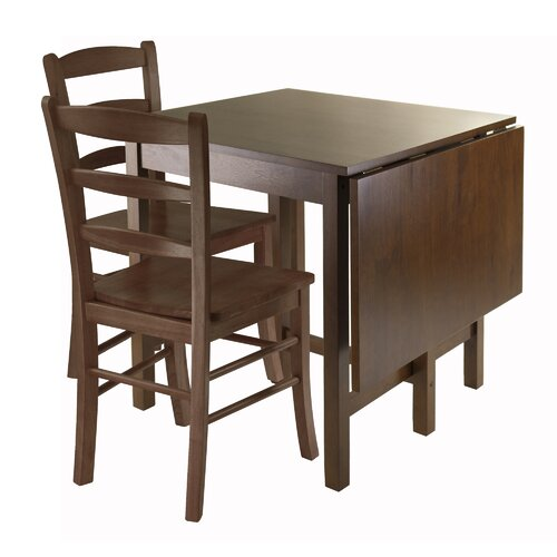 Space saving kitchen table wayfair for Table th spacing