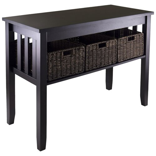 Winsome Morris Hall Console Table