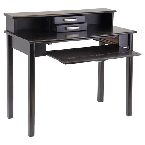 Under Desk Keyboard Tray Walmart Liso Computer Desk With Hutch And Keyboard Tray Reviews Wayfair